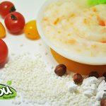 Gạo Nhật Japonica là thành phần chính trong bột ăn dặm và cháo ăn dặm Mabu