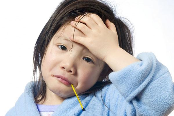 Trẻ bị sốt