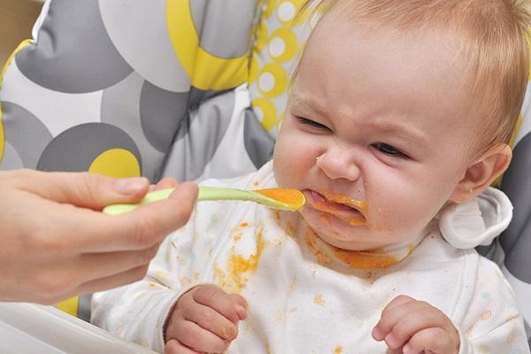 Biếng ăn do rối loạn cấu trúc thức ăn