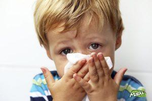 Trẻ bị viêm mũi