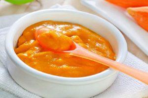 Cách nấu cháo ăn dặm từ cà rốt