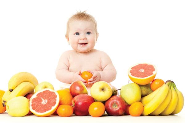 Giới thiệu trái cây cho bé
