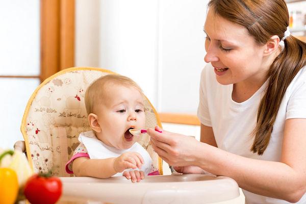 cấu trúc thức ăn theo độ tuổi của trẻ