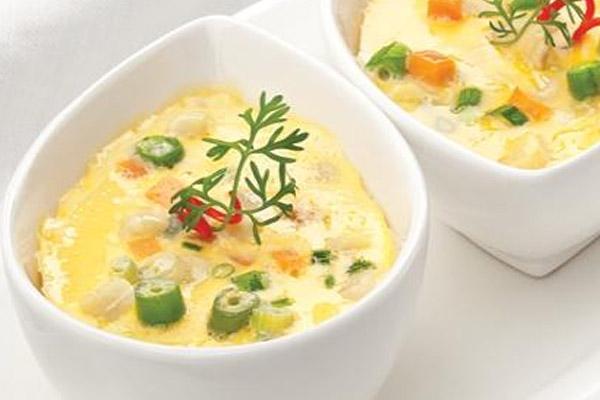 món ăn từ trứng giúp bé phát triển chiều cao